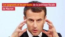 Les gagnants et les perdants de la politique fiscale de Macron