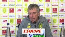 Gourcuff «On va pas jouer à cinq derrière ni avec huit défenseurs...» - Foot - L1 - Nantes