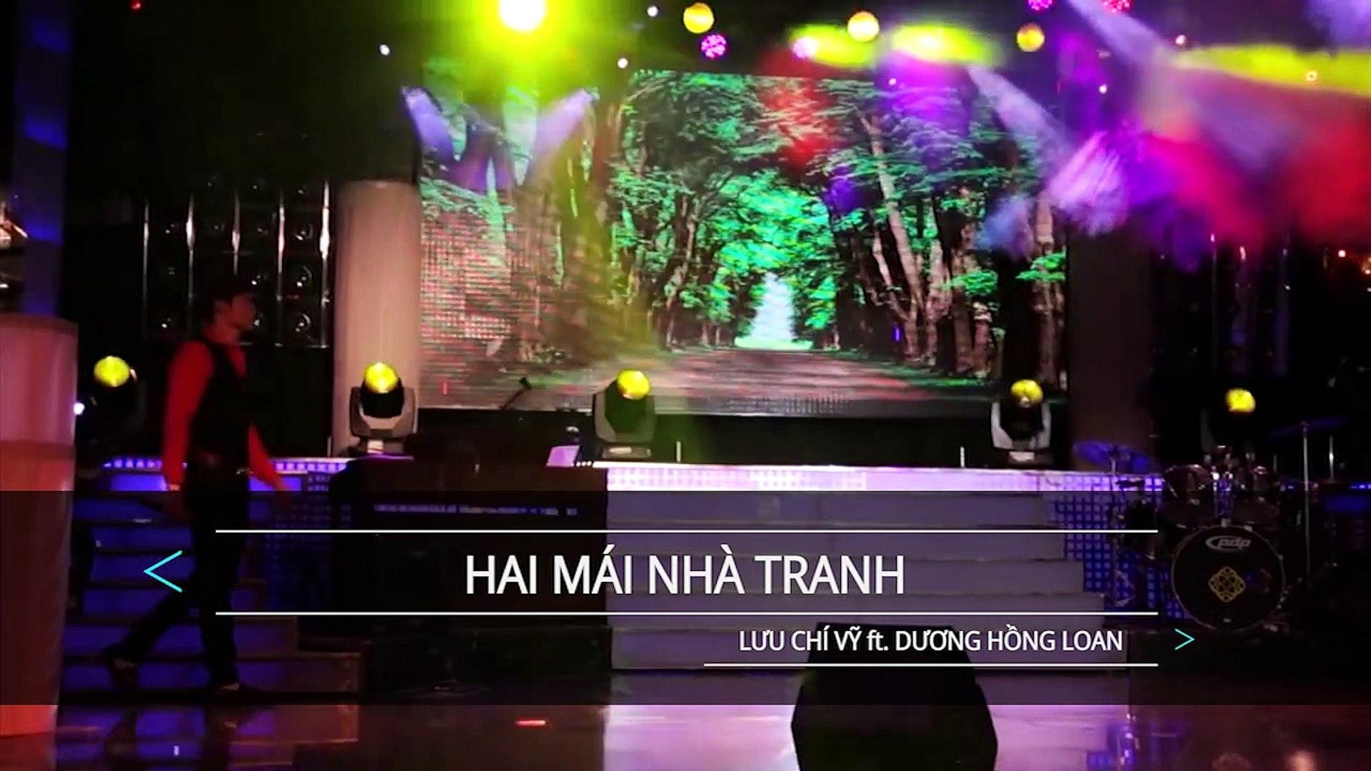 [Karaoke] Hai Mái Nhà Tranh - Lưu Chí Vỹ Ft. Dương Hồng Loan [Beat]