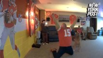 Watch this Kansas City Chiefs fan's epic reaction to Super Bowl win