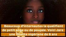 Cette jeune nigériane plus belle petite fille du monde