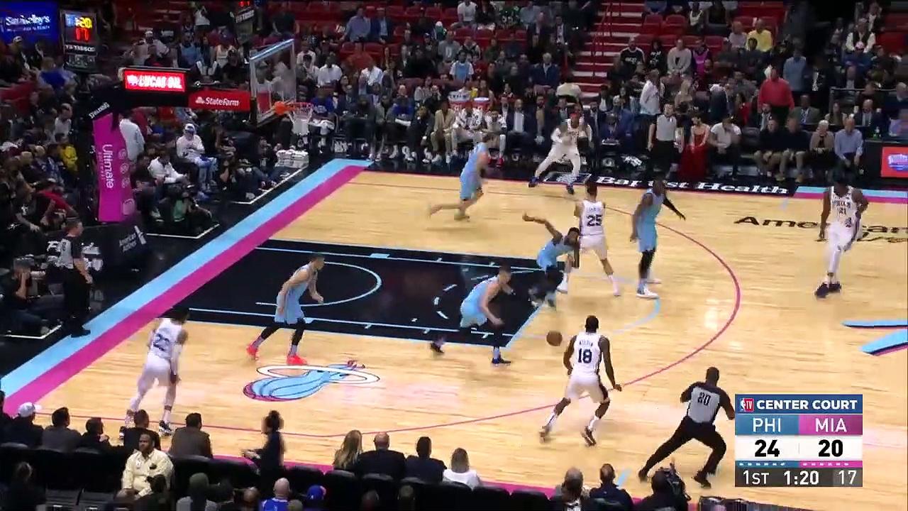 Philadelphia 76ers 106 - 137 Miami Heat