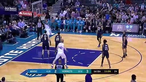 Orlando Magic 112 - 100 Charlotte Hornets
