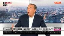 """EXCLU - Les confidences de Richard Anconina sur la récidive des prisonniers ce matin dans """"Morandini Live"""" - VIDEO"""