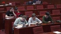 Mireia Boya renya l'establishment independentista en una intervenció memorable al parlament