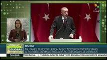 Rusia desmiente ataque de Turquía contra ejército regular sirio