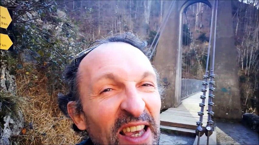 Apéro-rando, la passerelle d'Holzarté (64)