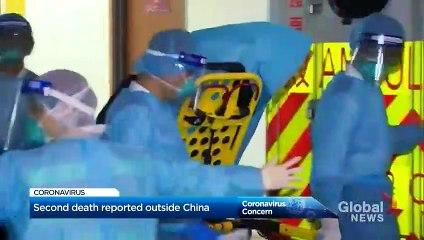 Coronavirus outbreak- HongKongreports 1st death amid hospital strike