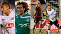 """A """"seleção da década"""" de cada um dos grandes do futebol brasileiro"""