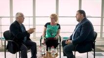 Conversación entre Manuel Castells y Oriol Junqueras en junio de 2017