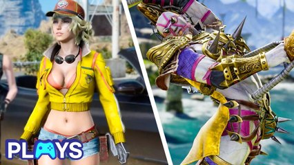 Skimpy Video Game Outfits That Don't Make Sense! | MojoPlays
