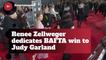 Renee Zellweger Honors Judy Garland