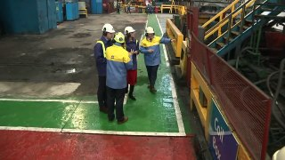 Prince William and Kate visit Tata Steel plant in Wales
