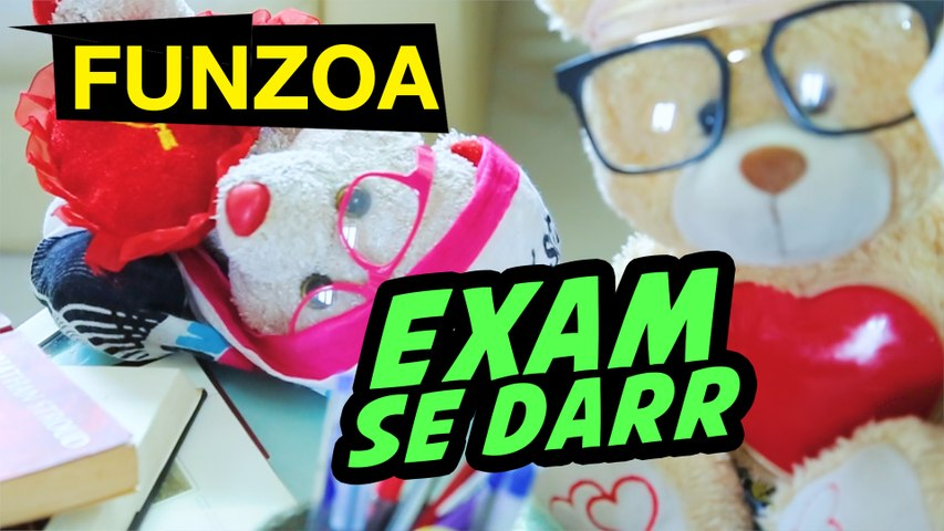 EXAM SE DARR | FUNZOA FUNNY HINDI SONG FOR FRIENDS