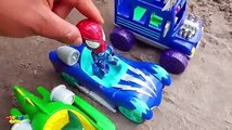Learn colors With lightning Mcqueen and Friends Cars 3 Toys Pj Masks Toys Beads balls learning