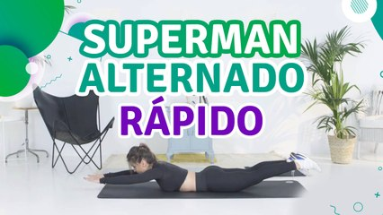 Superman alternado rápido - Sou Fitness