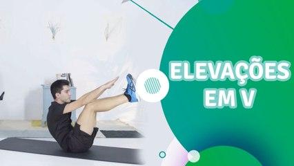 Elevações em V - Sou Fitness