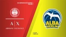 AX Armani Exchange Milan - ALBA Berlin Highlights | Turkish Airlines EuroLeague, RS Round 23