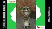Peidos engraçados do gato tom: Peido dizimista 2, parou de sair os 10%! [Frases e Poemas]