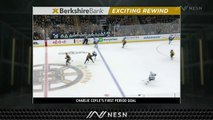 Charlie Coyle Pots Controversial Goal As Bruins Take Lead Vs. Canucks