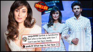 Kareena Kapoor Khan's Ramp Look With Kartik Aaryan TROLLED Badly