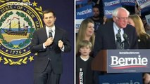 Primaire démocrate dans l'Iowa : Pete Buttigieg en tête des résultats partiels