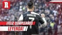 ¡Hoy cumple años una leyenda, hoy cumple años Cristiano Ronaldo!