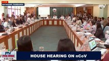 House hearing on the novel coronavirus
