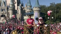 'It is awesome' – Super Bowl MVP Mahones fulfills dream in Disney World