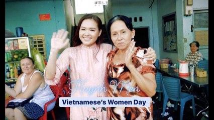 20_10 bất ngờ cho mẹ từ Huỳnh Mến _ Gánh Hàng Rong - Vũ Cát Tường