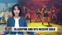 Black Pink and BTS have records go gold, while BTS win MTV's 2019 Hottest Summer Superstar award