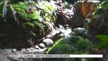 La grotte Vaipoiri reste fermée pour raisons de sécurité
