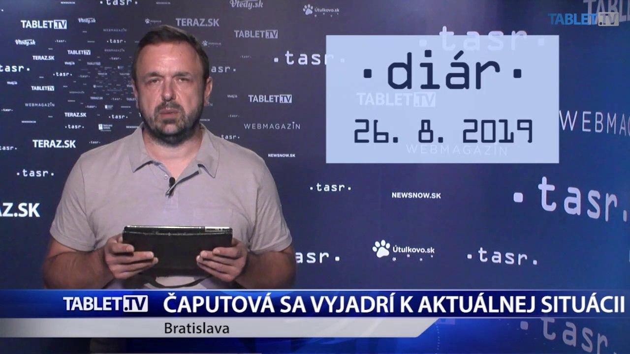 DIÁR: Prezidentka Z. Čaputová sa vyjadrí k aktuálnej situácii