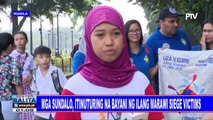 Mga sundalo, itinuturing na bayani ng ilang Marawi siege victims