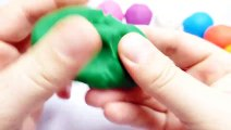 164.PlayDough Balls Learning Color and Numbers for Kids - English