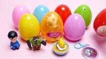 220.12 Surprise Eggs Unboxing - Hulk, Superman, Frozen, My Little Pony, Pokemon