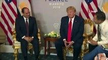 - G7 Zirvesi'nde Trump- Sisi Görüşmesi- Abd Başkanı Donald Trump:- 'İran'la Yeni Bir Nükleer Anlaşma Gerekli'