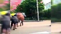 Hong-Kong : des caméras de surveillance détruites par les manifestants !