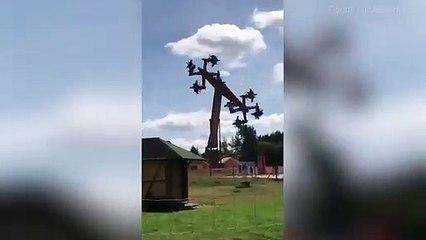 Un parc d'attraction Allemand ferme un manège à cause de sa structure en forme de croix gammée