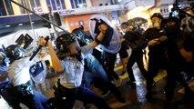 Hong Kong : après le tir d'un coup de feu, la police se justifie