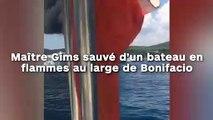 Maître Gims sauvé d'un bateau en flammes au large de Bonifacio !