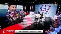 Le monde de Macron: Pas de débordements au sommet du G7, bravo Castaner ? - 26/08
