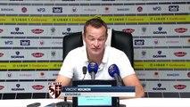 Angers - Metz, la réaction des coaches