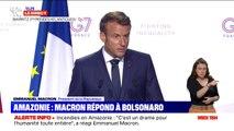 """Emmanuel Macron déplore les """"propos extrêmement irrespectueux"""" de Jair Bolsonaro sur son épouse Brigitte"""