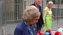 La reina Sofía da la última hora del estado de salud del rey Juan Carlos tras su operación