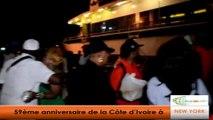 USA/ An 59 de la Côte d'Ivoire: Les ivoiriens célèbrent l'événement sur un Yacht à New York