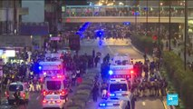 Hong Kong: Police fire tear gas and arrest 36, youngest aged 12