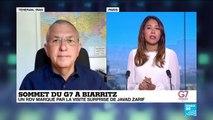G7 à Biarritz : un rdv marqué par la visite surprise de Javad Zarif