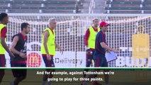 Consistency key to beating Champions League finalists Tottenham - Emery