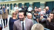 Keanu Reeves wraps up filming 'Bill & Ted 3'